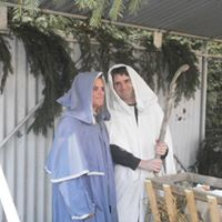Živý betlém ve Svinarech 2015