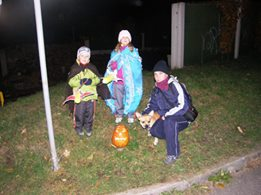 Halloween v Nových Hodějovicích 31-10-2015