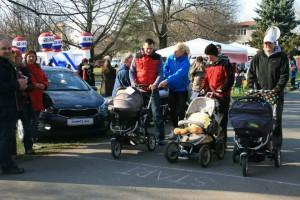 Strolleringové závody kočárků 28-03-2015